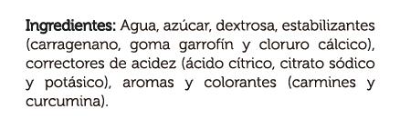 gelli_sweet_naranja_reina_4x100g_DEFI_ingredientes