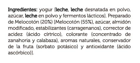 yogur_con_melocoton_de_murcia_ingredientes