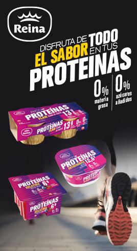 Postres Reina Rico en Proteínas